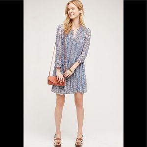 Anthropologie Betony Swing Dress